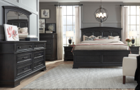 Arched Panel Bed, CA King 6/0