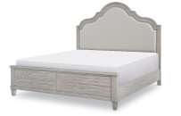 Upholstered Panel Bed, CA King