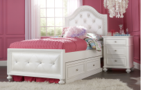 Upholstered Bed Full