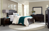 Panel Bed CA King