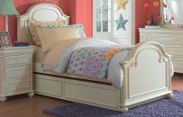 Arched Panel Bed  Twin