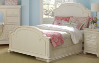Arched Panel Bed Full