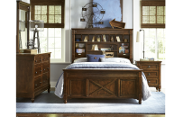 Vista Point Bookcase Bed Full