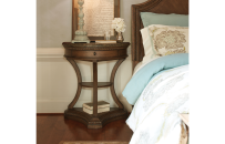 Demilune Bedside Chest