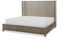 Upholstered Shelter Bed, CA King