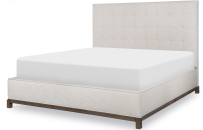 Complete Upholstered Bed, CA King