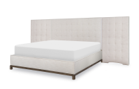 Upholstered Wall Bed, CA King