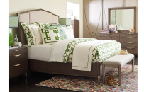 Upholstered Bed, CA King 6/0