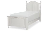 Low Poster Bed, Twin