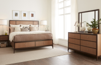 Panel Bed w/Storage FB, CA King 6/0