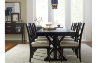 Trestle Table - Peppercorn