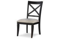 X Back Side Chair - Peppercorn