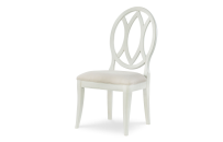 Oval Back Side Chair - Sea Salt