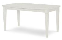 Shaped Leg Table - Sea Salt