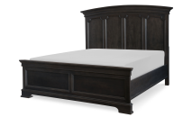 Arched Panel Bed, King