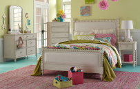 Upholstered Bed, Twin 3/3