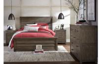 Panel Bed, Queen 5/0