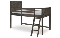 Mid Loft Bed, Twin