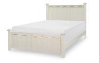 Low Post Bed, Queen