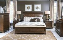 Sleigh Bed w/Storage Ftbd, King 6/6