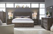 Panel Bed w/ Storage Footboard, CA King 6/0