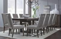 Rectangular Double Pedestal Table