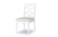 Lattice Back Side Chair