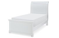Complete Sleigh Bed, Twin