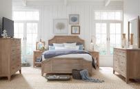 Complete Shutter Bed, Queen 5/0