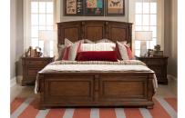 Panel Bed w/ Storage Bench FB, CA King 6/0