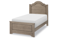 Complete Arched Panel Bed, Twin
