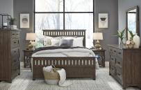 Complete Panel Bed, Queen 5/0